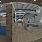 Endeavor Fitness Club South Lyon Interior Panorama