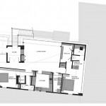 The Flute House Residence Royal Oak Michigan Upper Floor Plan